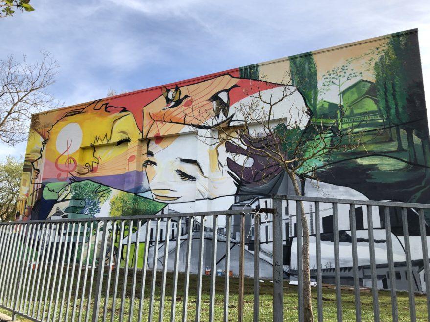 mural san martin vitoria