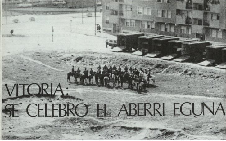 aberri eguna 1977 vitoria