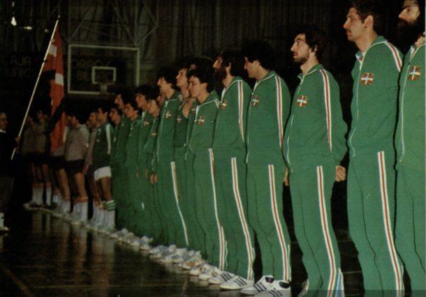 Vitoria-Gasteiz acogió el primer partido de la selección de Euskadi de baloncesto