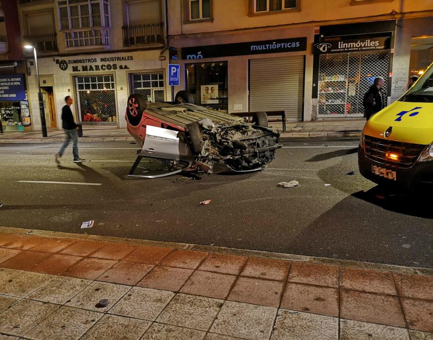 accidente vehiculo calle paz lo mas visto