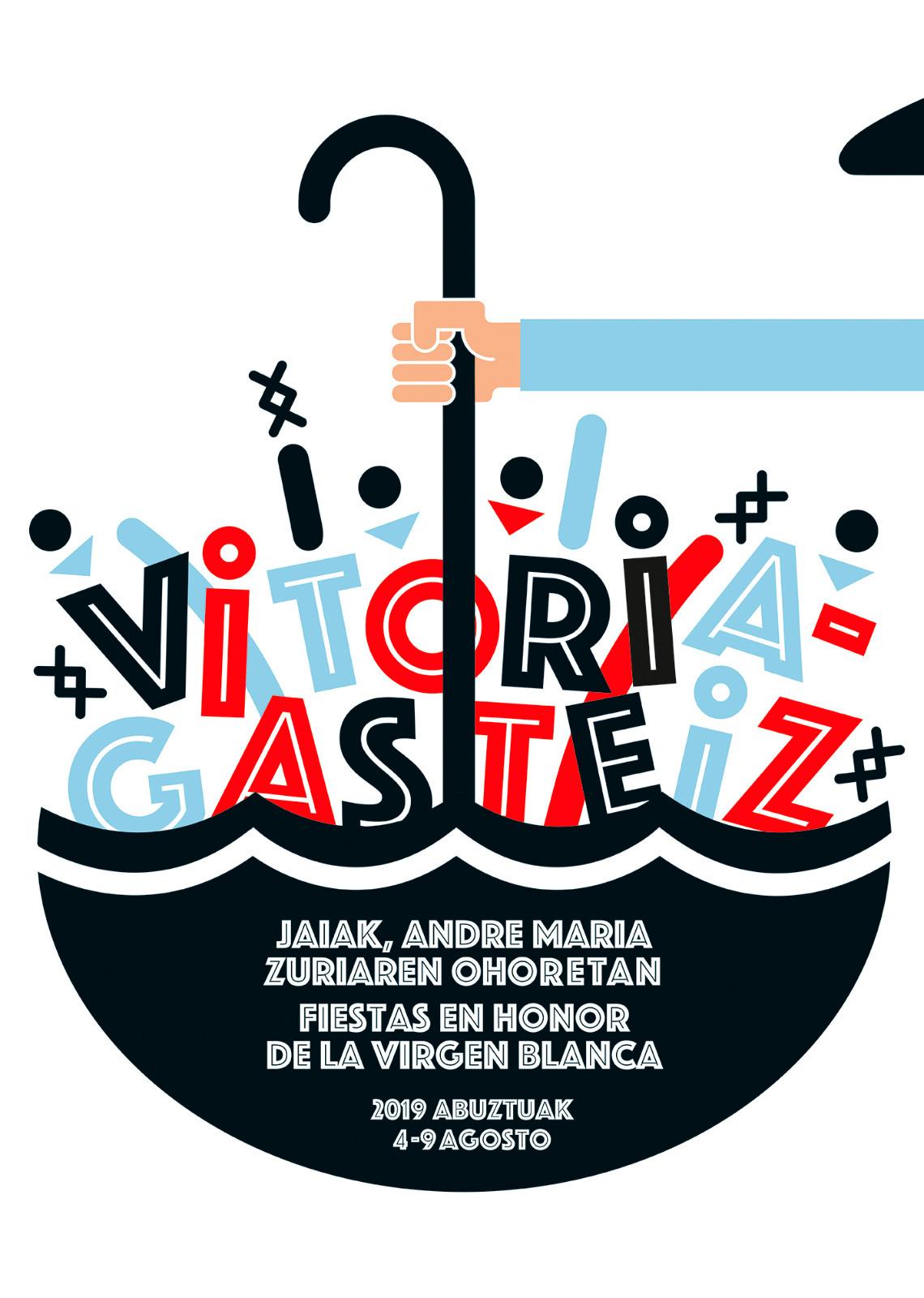 cartel fiestas de la blanca 2019