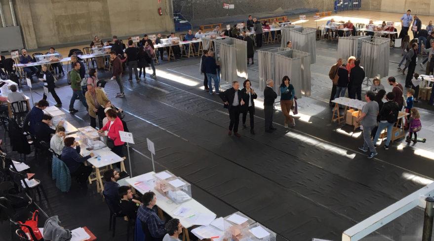 colegios electorales en vitoria 10 noviembre
