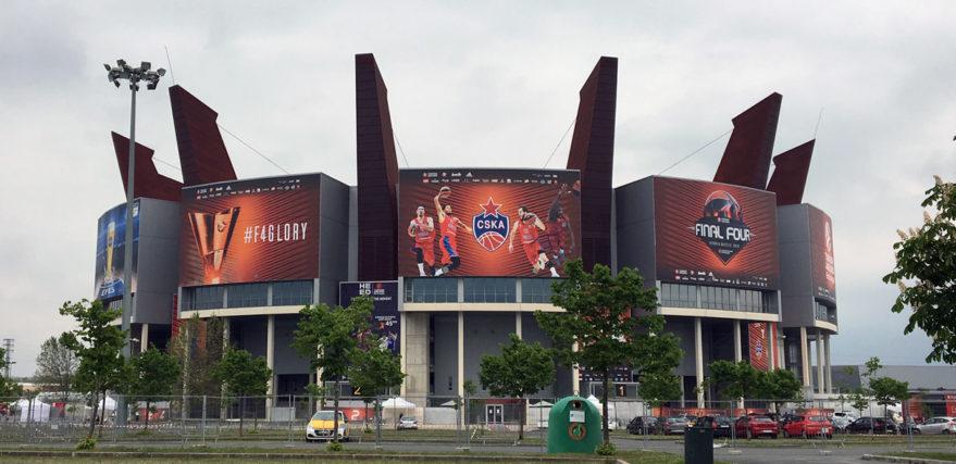 Buesa Arena Final Four en Vitoria-Gasteiz