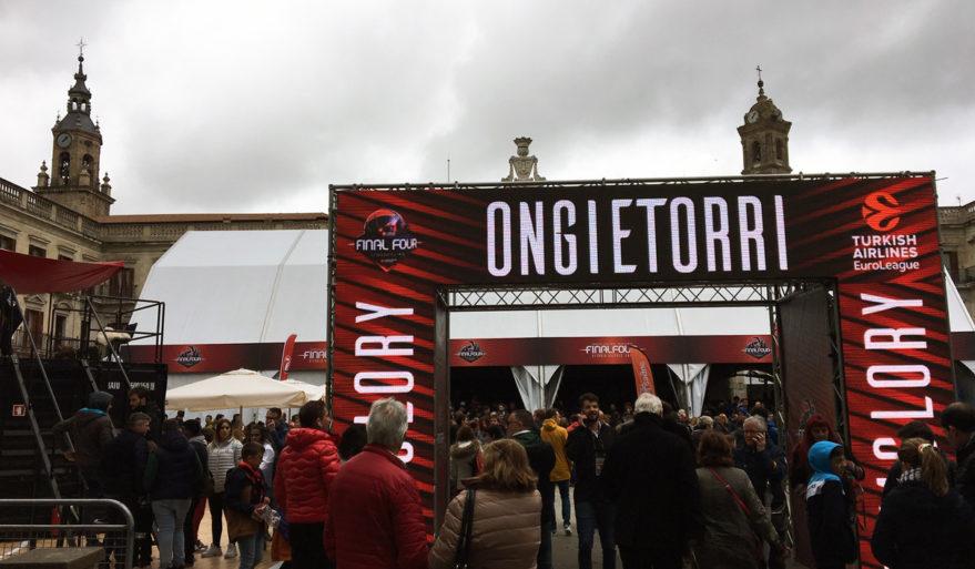 fan zone final four euroleague baskonia