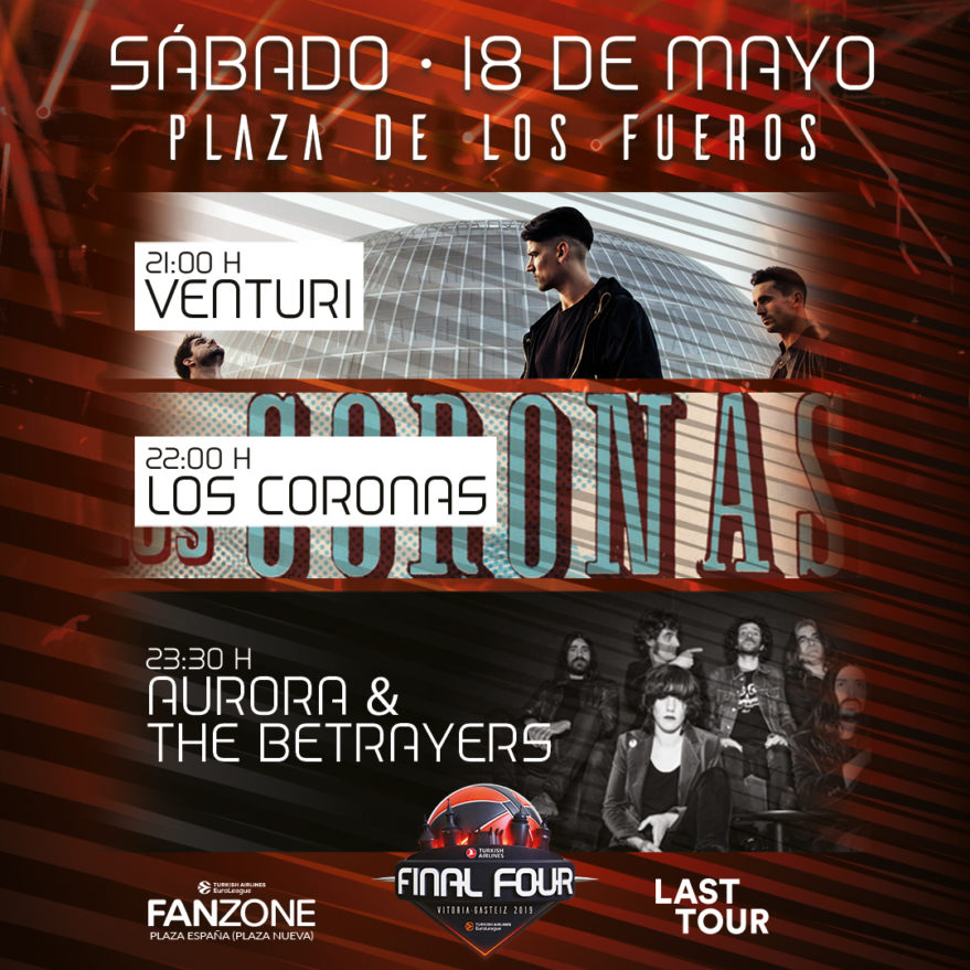 conciertos final four vitoria 2019