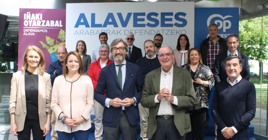 candidatos pp alava iñaki oyarzabal