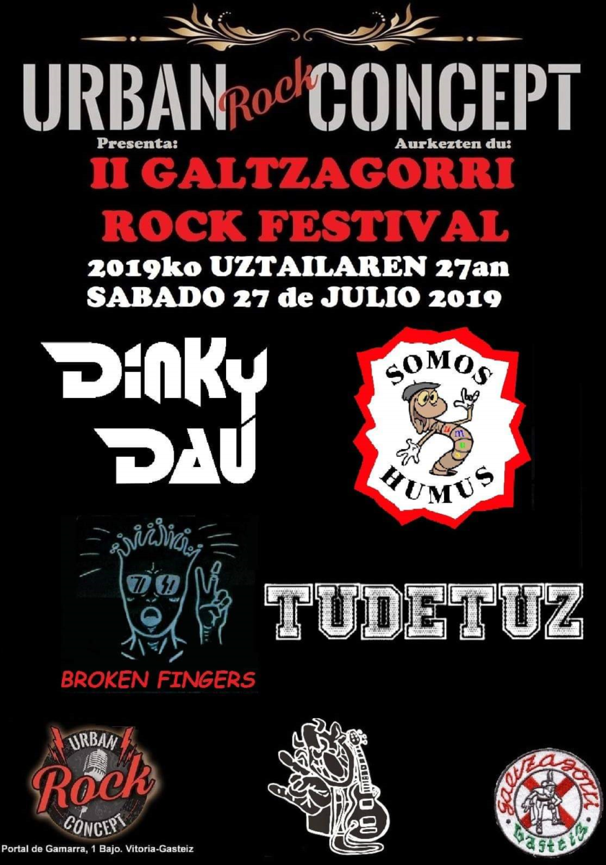 II Galtzagorri Rock Fest @ Urban Rock Concept