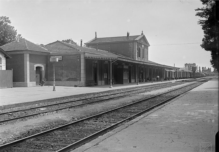 Estación de Tren de Vitoria. 1920
