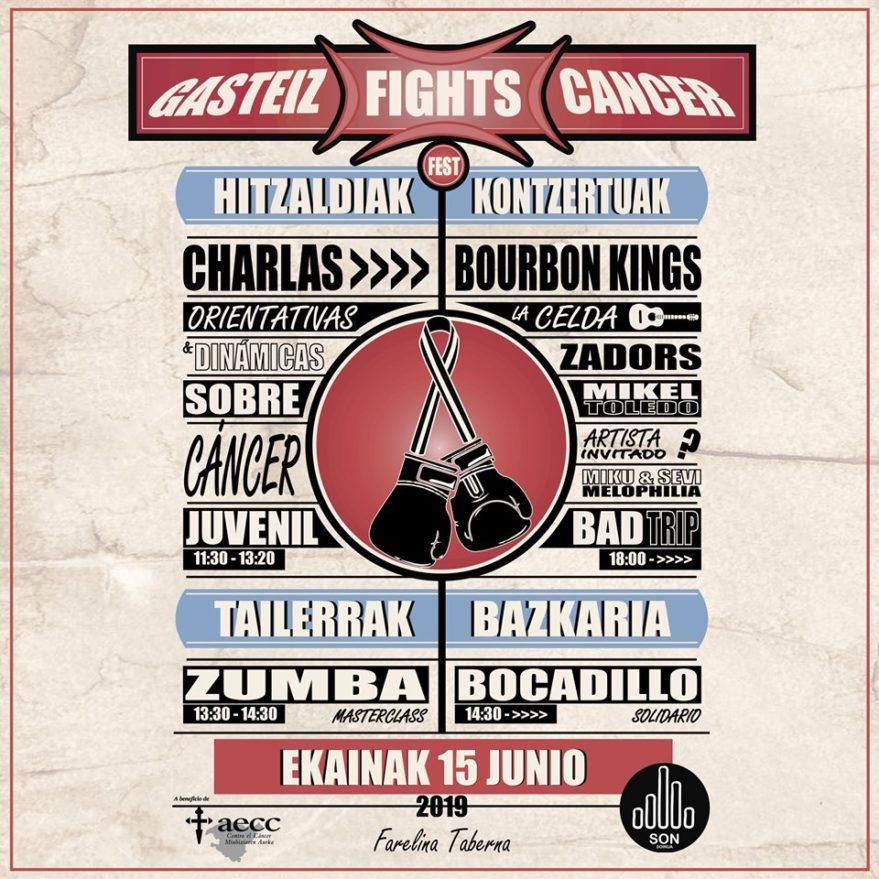 Gasteiz fights cancer falerina