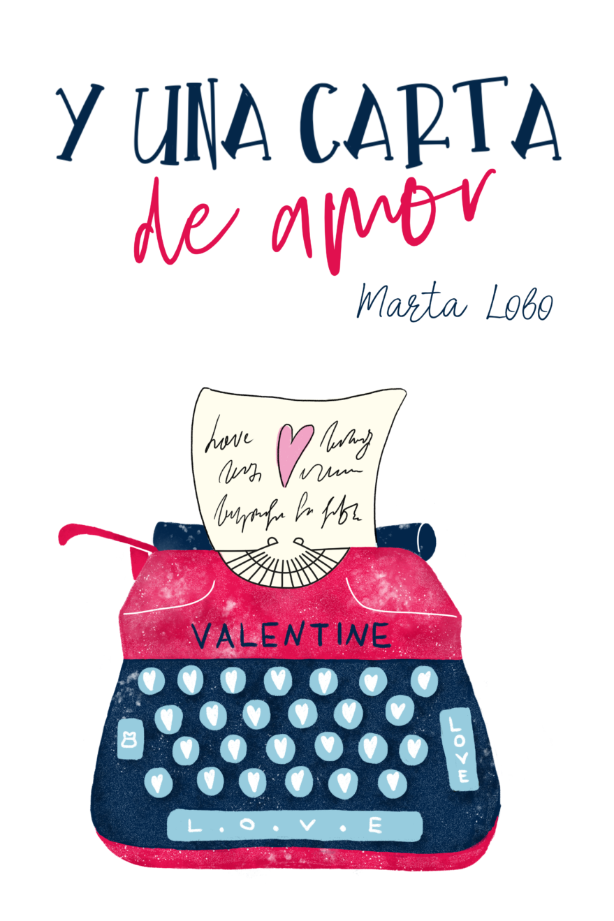 """Portada """"Y una carta de amor"""""""