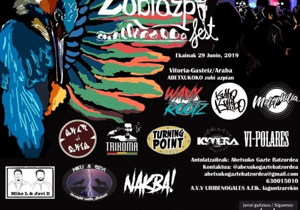Zubiazpi Fest: 12 horas de música local junto al puente de Abetxuko