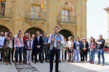 Dani García, en un acto del PP en abril