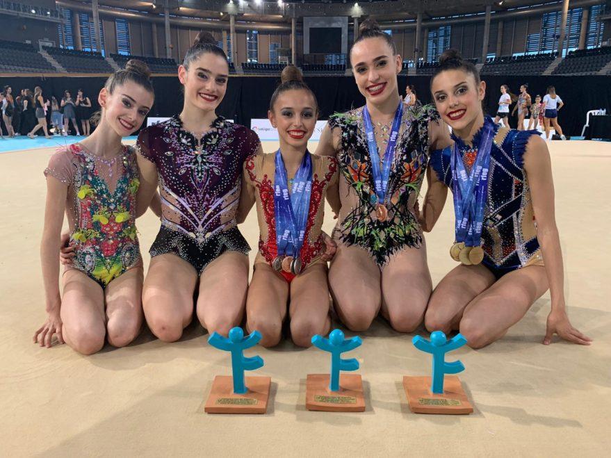 campeonato españa gimnasia ritmica alava