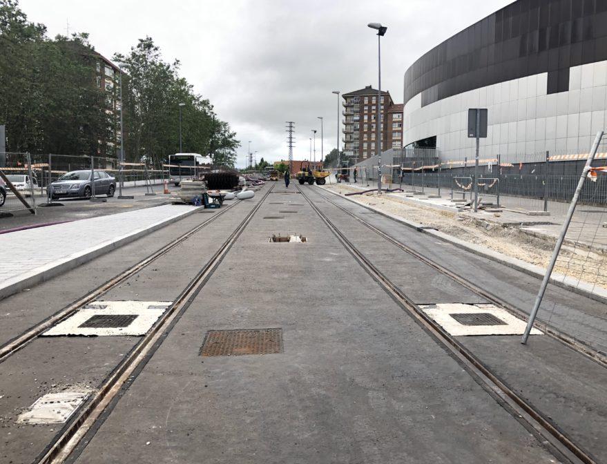 Las obras del Tranvía al Sur finalizarán en diciembre: nuevos cortes de tráfico