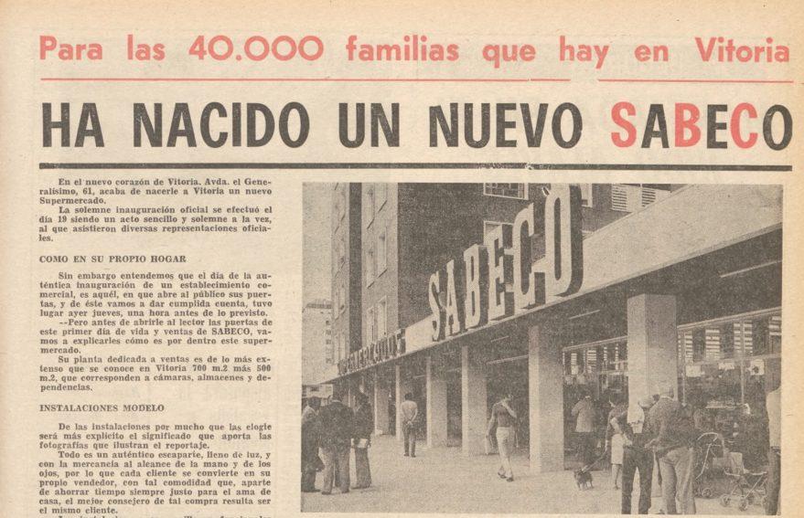 Sabeco ianuguración 1973 avenida
