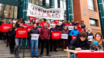 protesta salones de juego judimendi