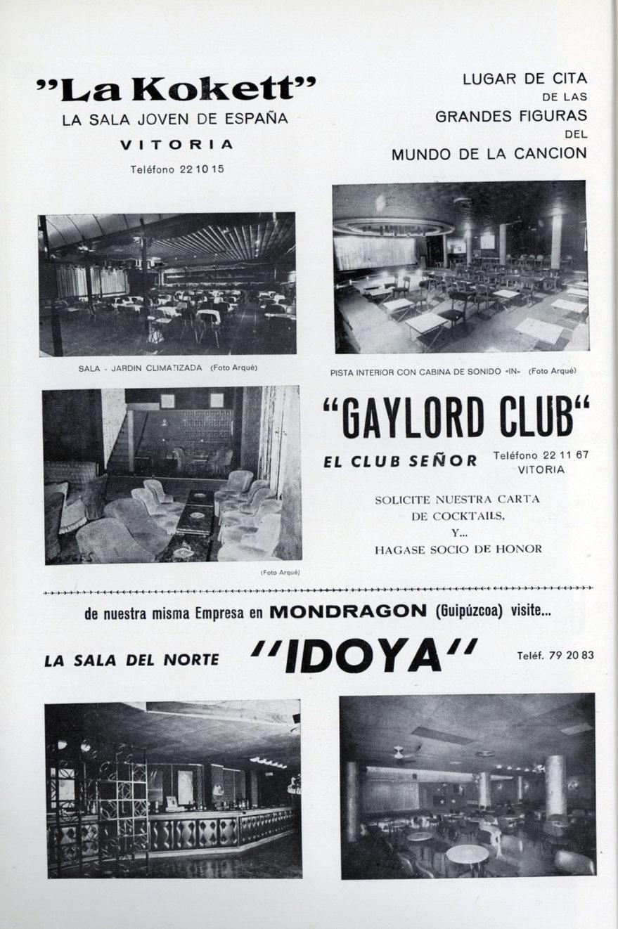 discoteca vitoria 1973