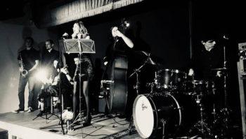 Actuación del grupo musical The Swingtet @ A la altura de San Mateo