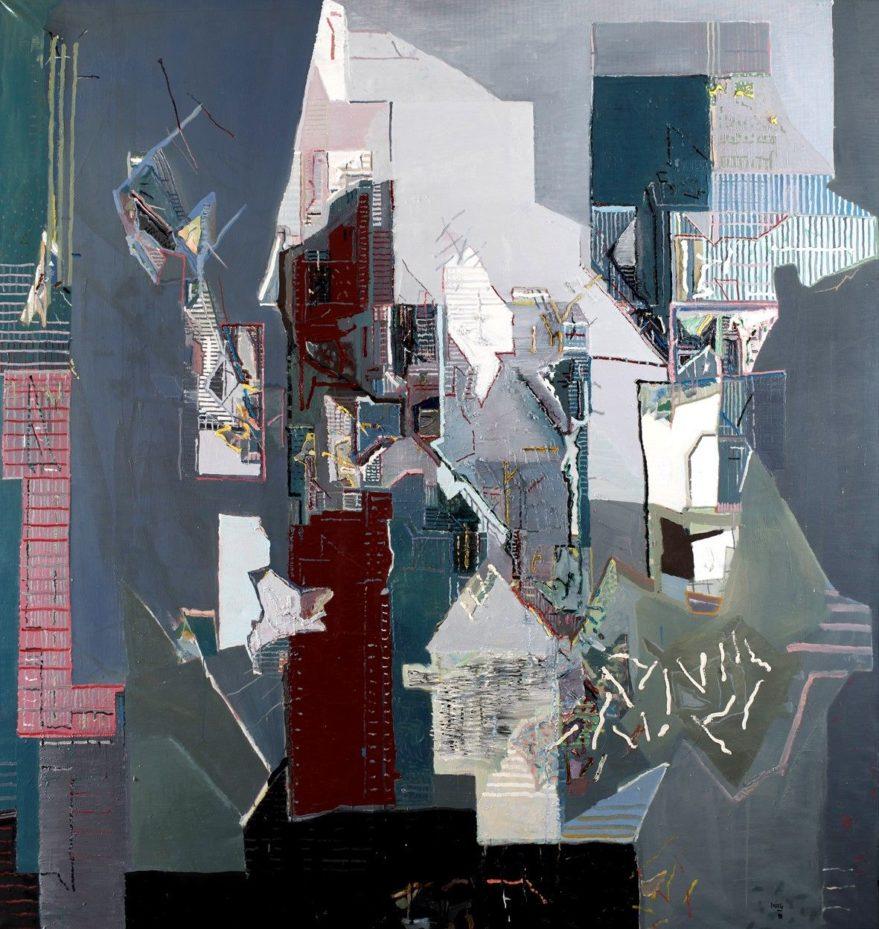 Obra de la exposición 'VI - siones, cuatro miradas'