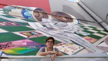 """Ariznabarra plasma """"La Cosecha"""" en su nuevo mural"""