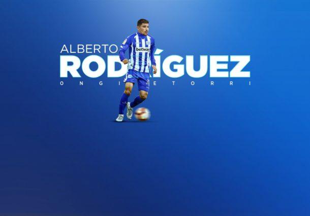 El Alavés ficha a Alberto Rodríguez procedente del filial del Atlético de Madrid