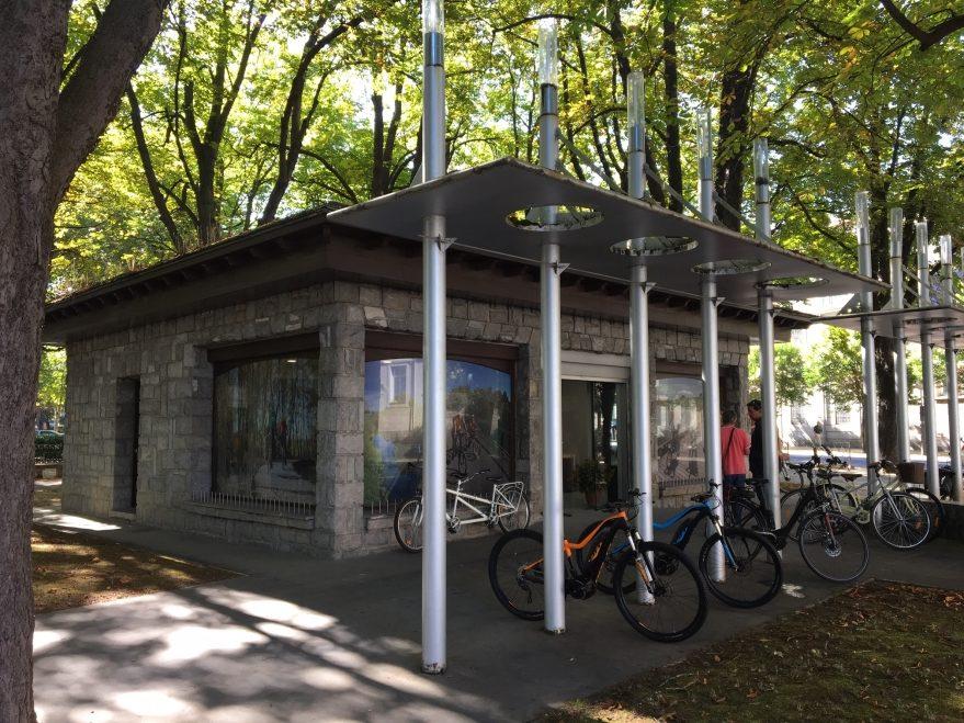 alquiler bicicletas casona parque de la florida