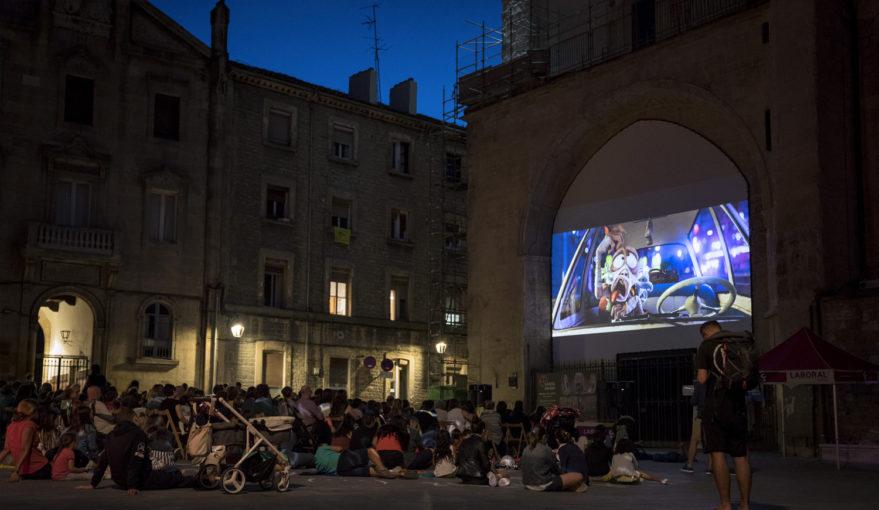 Cine al aire libre -Catedral Santa María