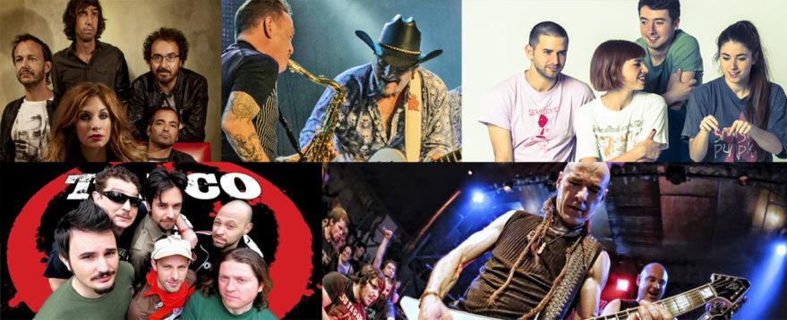 conciertos la blanca 2020 La Oreja de Van Gogh, Los Rebeldes, Belako, Talco y Su Ta Gar