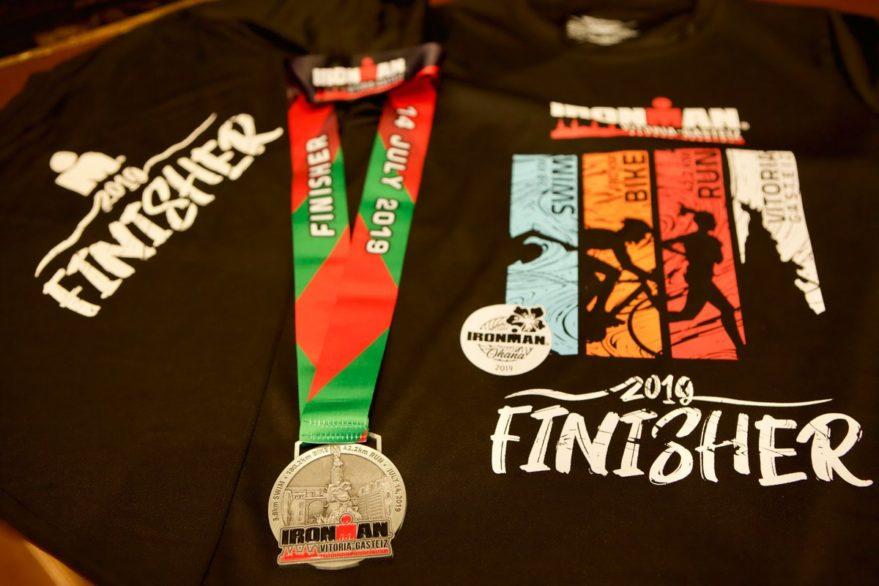medalla finisher ironman vitoria