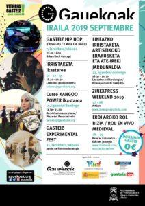 Gauekoak: esta semana, Zinexpress, rol en vivo medieval y conciertos