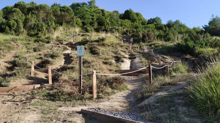 escalones cerro olarizu