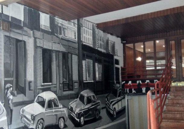 Garajes que recuerdan la historia de Vitoria-Gasteiz
