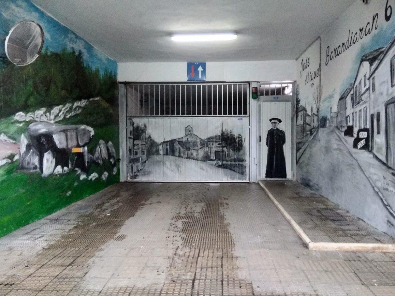 pequeños murales, Vitoria-Gasteiz, Arte Urbano, Barandiaran