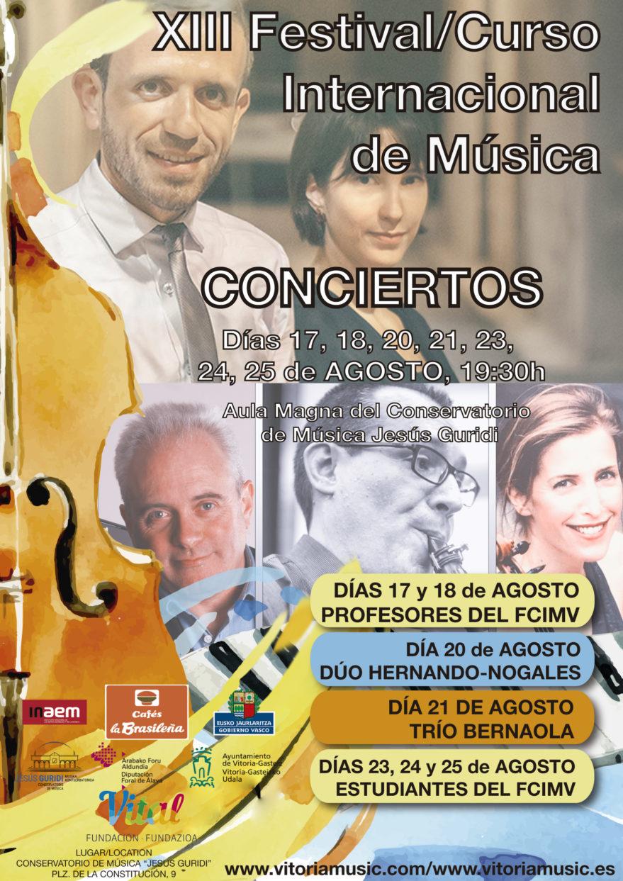 Festival Internacional de Música de Vitoria @ Conservatorio de Música Jesús Guridi