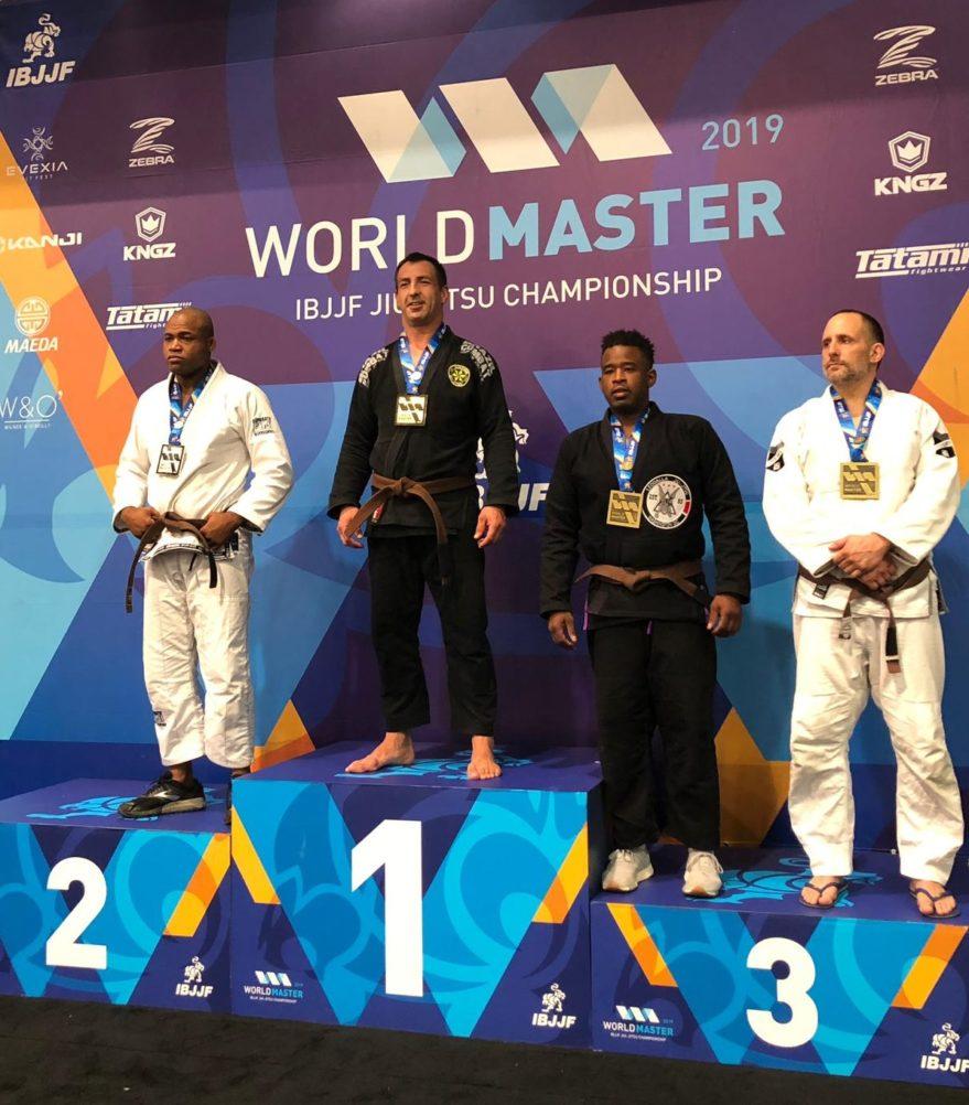 Ramón Francho, oro en el Campeonato del Mundo de Brazilian