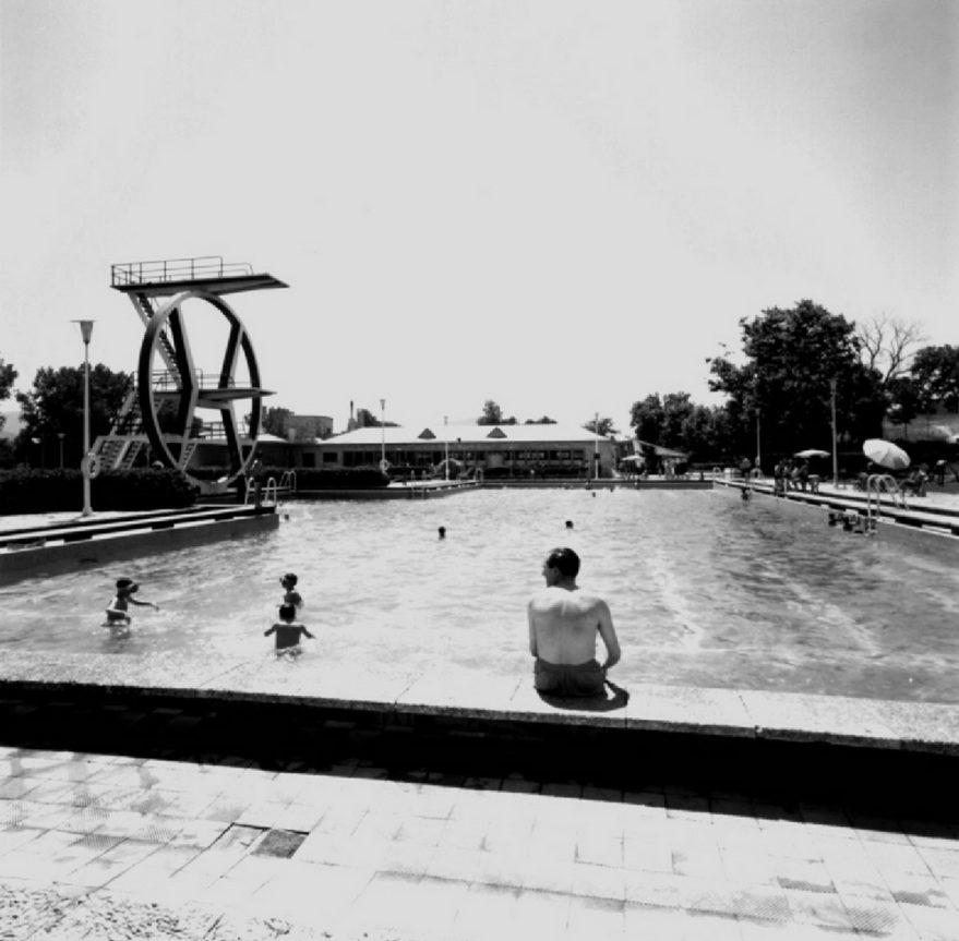 Aspecto de las instalaciones hacia 1964. Fondo Arabadok, ATHA.