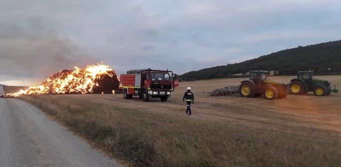 bomberos paja