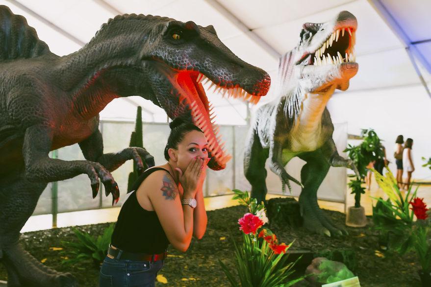 dinosaurs tour vitoria