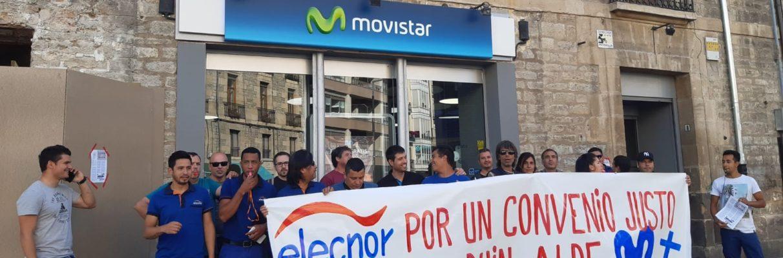 Los instaladores de Movistar van a la huelga para denunciar impagos y fraudes