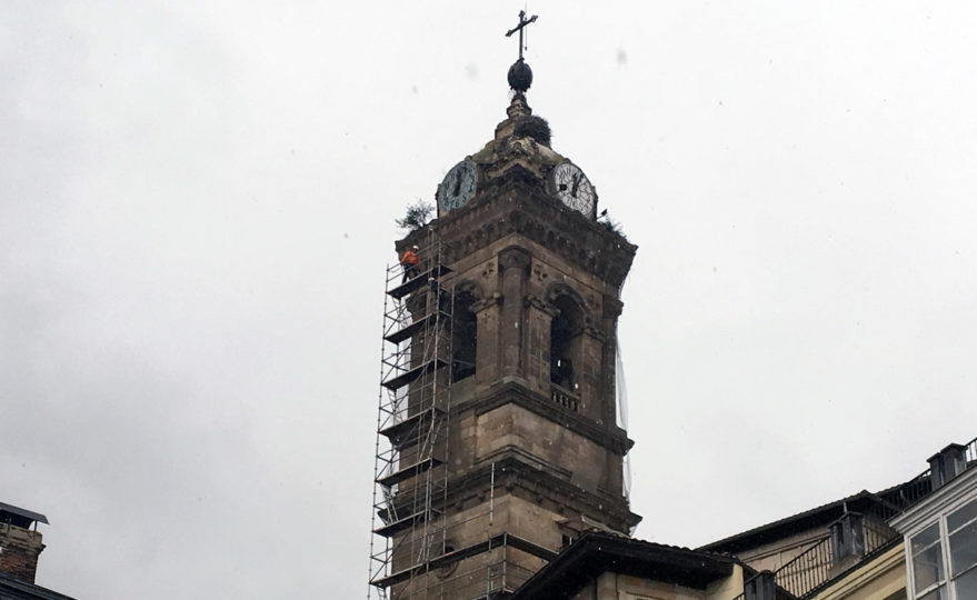 reforma iglesia san vicente torre