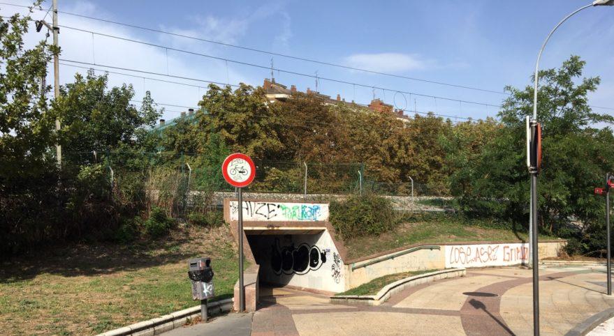pasadizo tunel ariznabarra