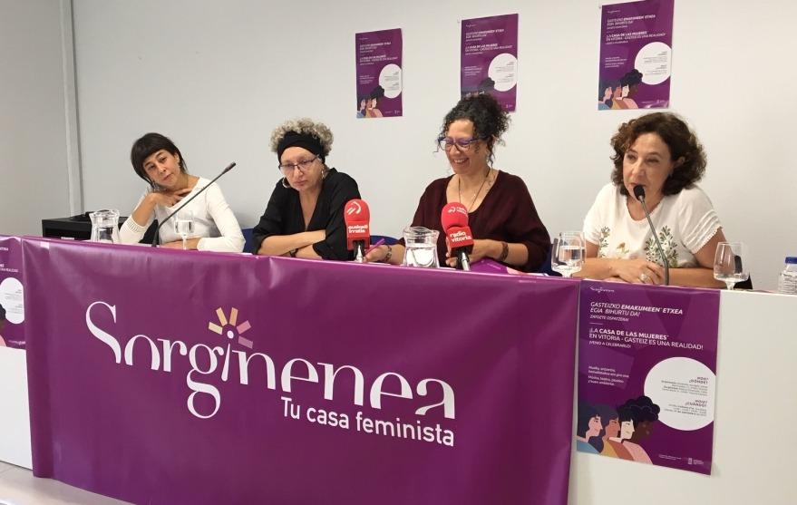 Sorginenea invita a todas las mujeres de Vitoria a participar en 'Tu Casa Feminista' | Gasteiz Hoy
