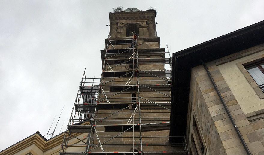 reforma torre san vicente vitoria gasteiz