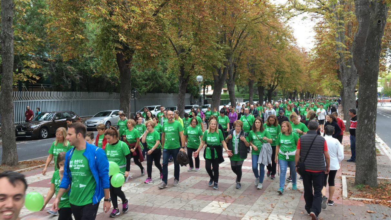 Marcha contra el cancer vitoria