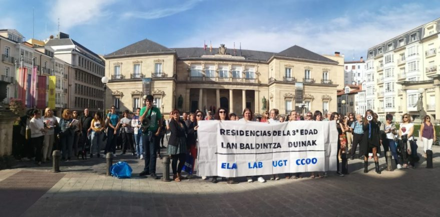 residencias privadas convenio huelga vitoria