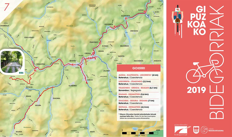 rutas en bici por goierri