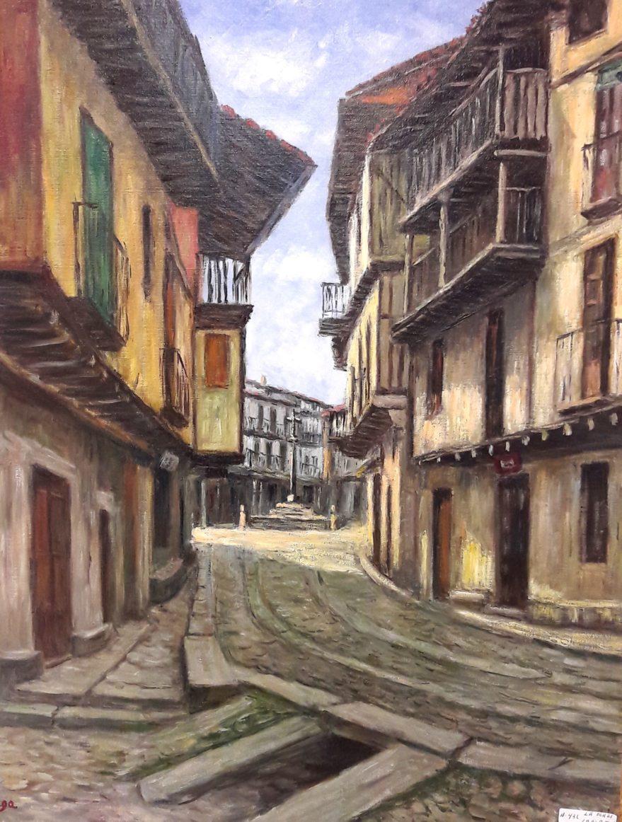 Paisaje del pintor Zubiaga