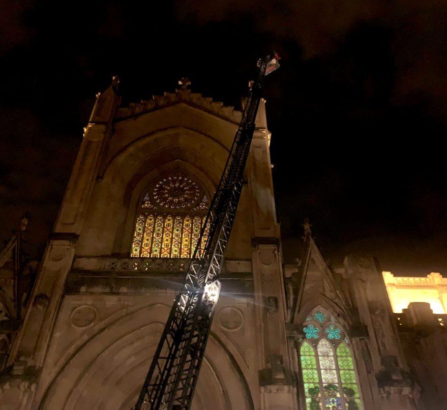 bomberos incendio catedral nueva