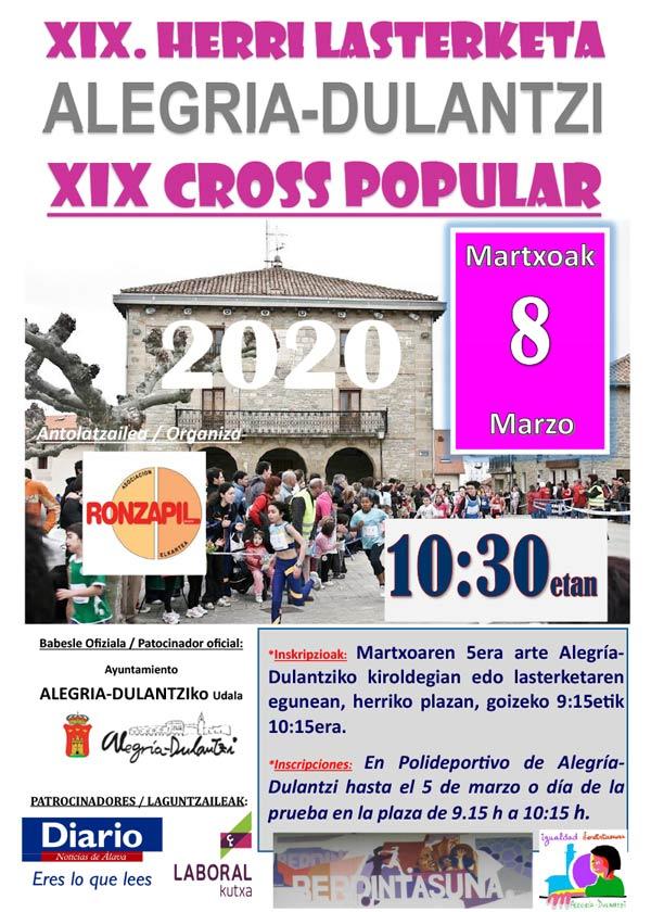 XIX Cross Popular Alegría-Dulantzi @ Plaza de Alegría-Dulantzi