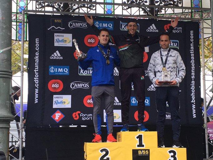 Iván Fernández logra el bronce en la Behobia-San Sebastián